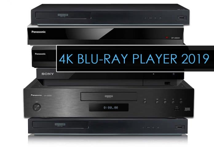 Alle 4K Blu-ray Player 2019