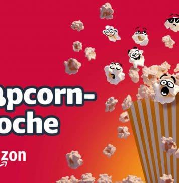 Amazons Popcorn Woche bietet Rabatte auf Filme, Serien und Entertainment-Produkte