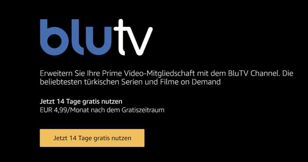 BluTV Amazon Channels