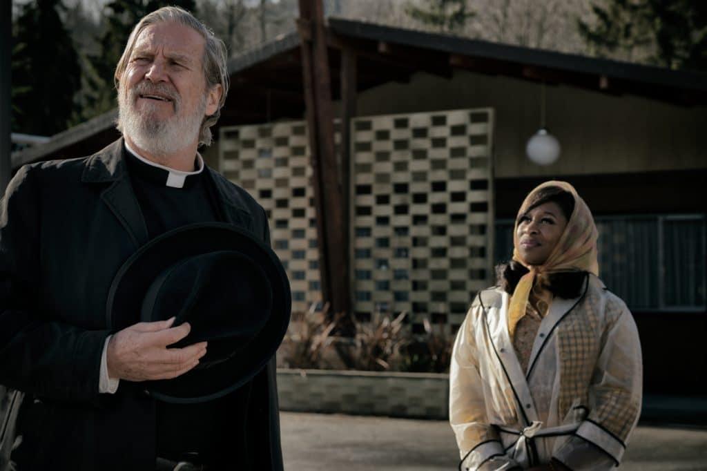 "Jeff Bridges (The Big Lebowski"" spielt Vater Daniel Flynn mit Cynthia Erivo alias Darlene Sweet"