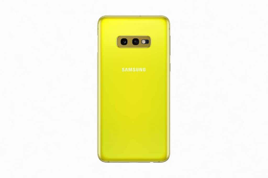 "Samsung Galaxy S10e: Hier sind ""nur"" zwei Kameralinsen an Bord"