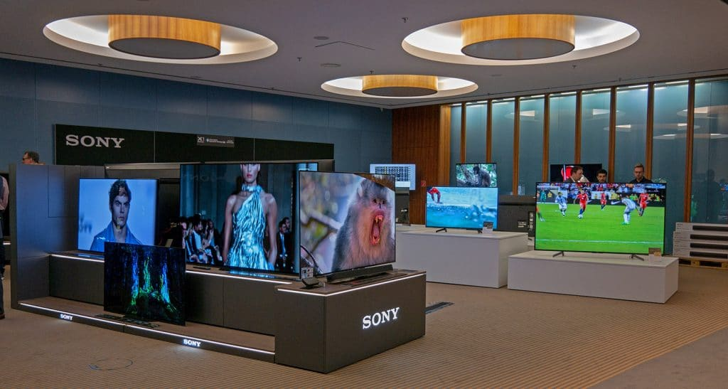 Lässt das Techniker-Herz höher schlagen: Sony TV-Ausstellung auf der Roadshow in Berlin