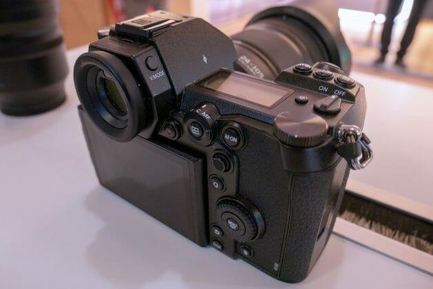 DC-S1R Kamera Rückseite