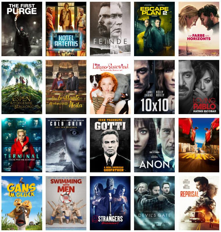 Amazon bietet in den Prime Deals wieder eine bunte Filmauswahl