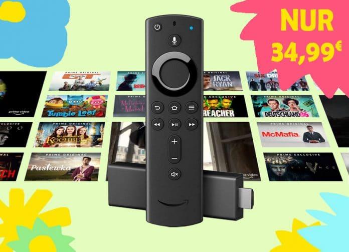 Der Fire TV STICK 4K für nur günstige 34.99 Euro sichern!