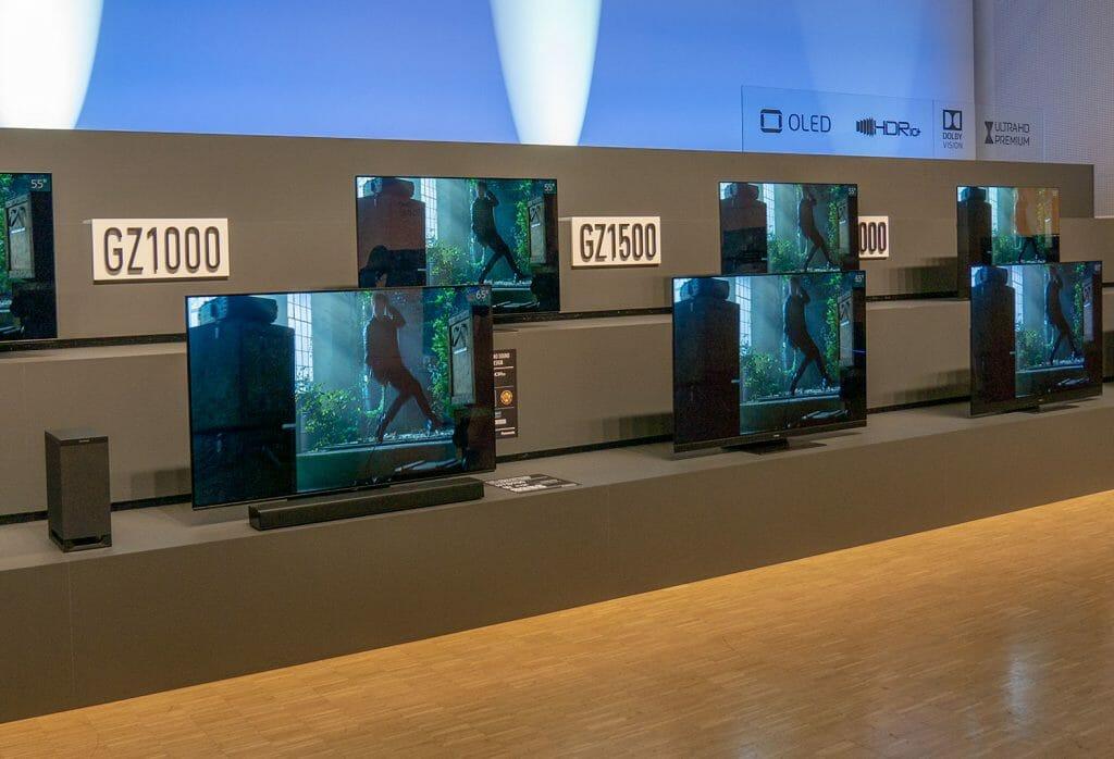 Panasonic weitet sein OLED-Lineup mit neuen Modellen und Features aus!