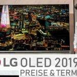 LG verrät die Preise und Termine für seine 2019 OLED TVs (C9, E9, W9)