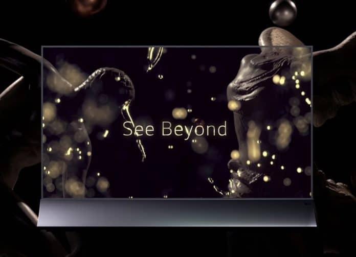 Leider ist der transparente OLED-TV nicht für private Anwender erhältlich