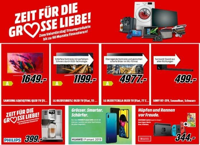 MediaMarkt.de lockt mit Top-Preise für TV-Geräte & Co. + 60 Monate Finanzierung