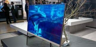 Der transparente OLED TV war einer der heimlichen Starts der Panasonic Convention 2019
