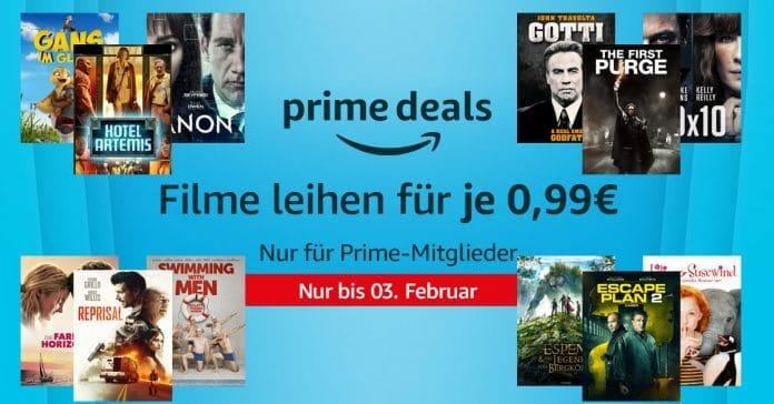 20 Blockbuster-Filme zu je nur 99 Cent ausleihen - Nur in den Prime Deals!
