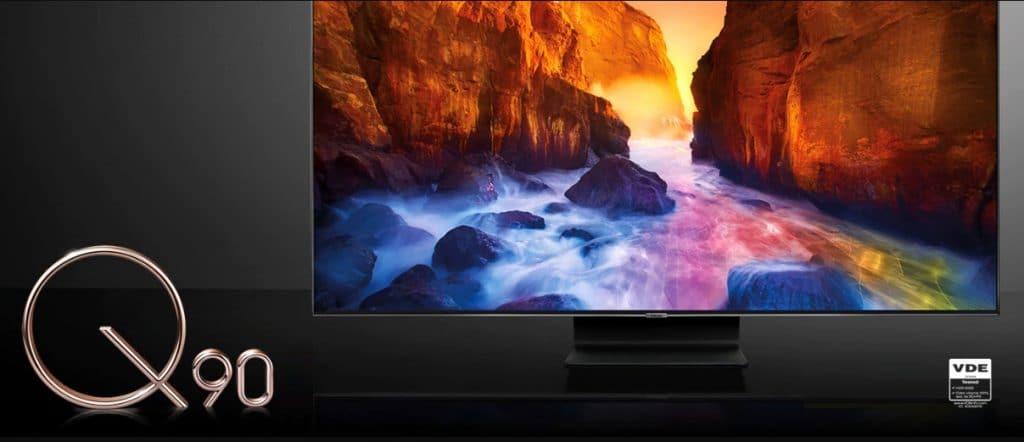 Alle QLED-TVs 2019 inkl. den Q90R Top-Modellen können lt. VDE 100% des DCI-P3 Farbvolumens darstellen