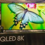 Samsung präsentiert die Q950R 8K QLED Fernseher im Rahmen des EU Forums 2019