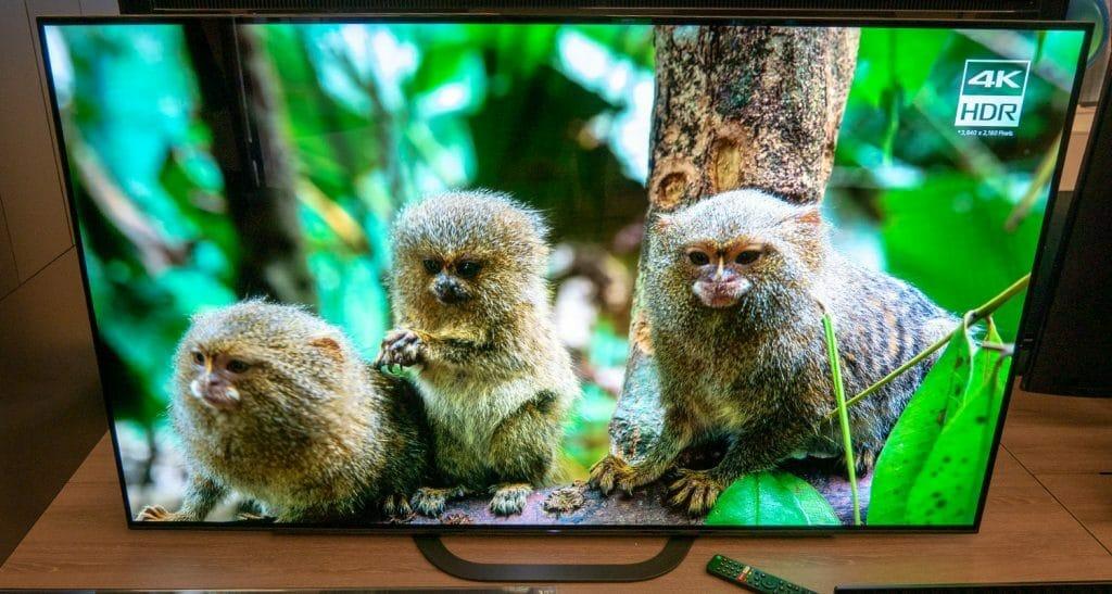 Der Sony AG8 4K OLED TV in 55 Zoll (auch in 65 Zoll erhältlich)