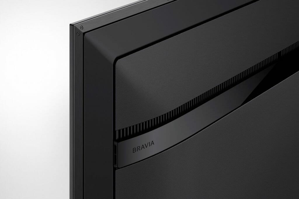 Sony achtet bei der XG95 auf Details sowie eine hochwertige Verarbeitung
