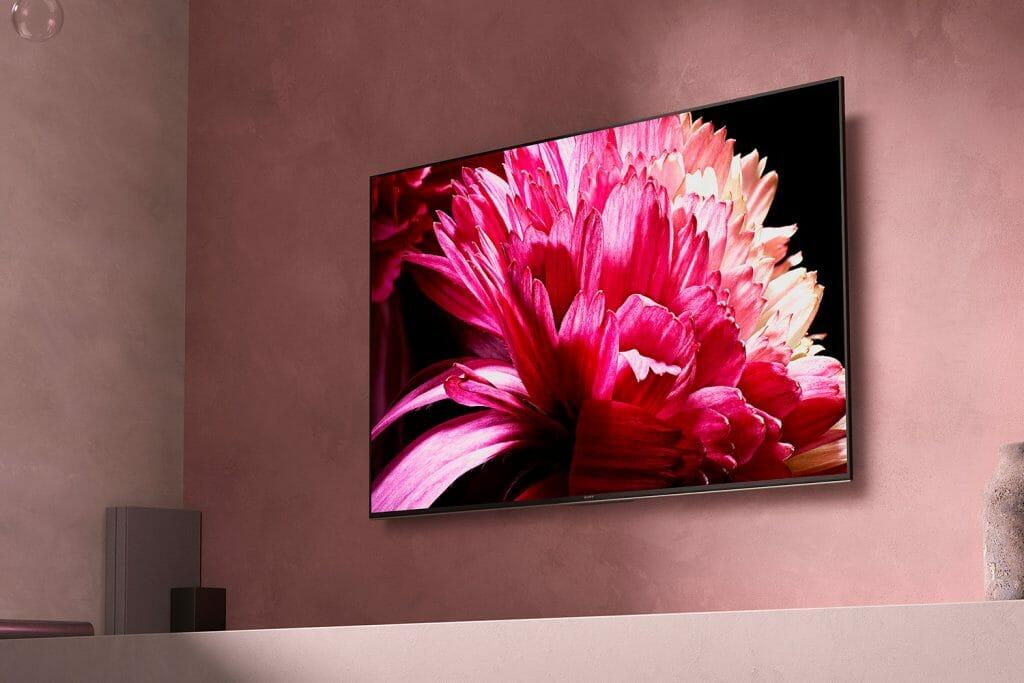 Macht auch mit einer Wandmontage einen guten Eindruck: Sony XG95 4K HDR TV mit FALD