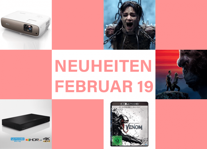 Alle Technik und Film-Neuheiten 2019