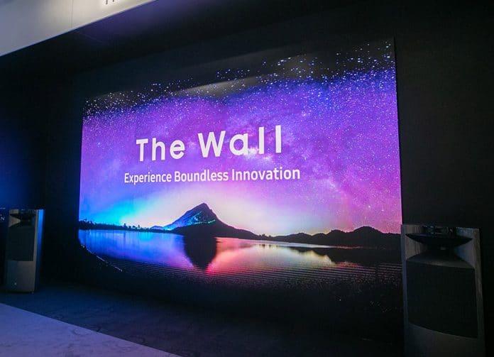 Samsung präsentiert eine 292 Zoll-Version von