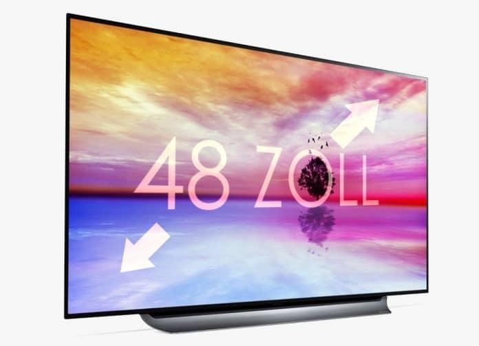 Der 48 Zoll 4K OLED TV von LG könnte erstmals die 1.000 Euro Marke knacken!