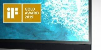 Der LG OLED TV E9 (2019) sichert sich den beliebten iF Gold Award