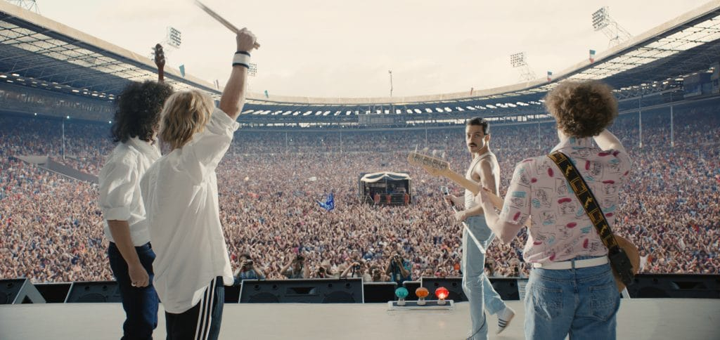 Die Bildqualität der 4K Blu-ray von Bohemian Rhapsody ist der regulären HD Blu-ray in vielen Belangen überlegen!