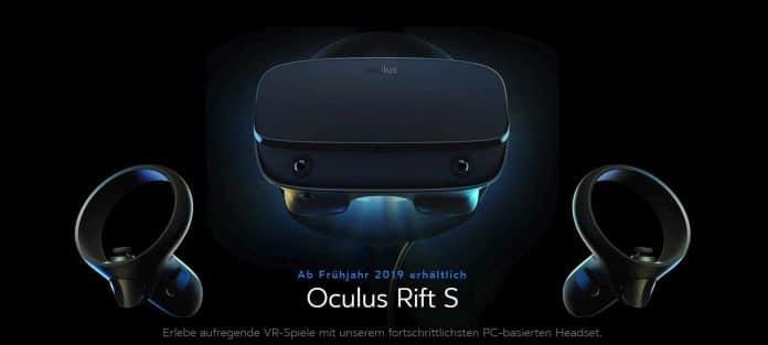 Oculus Rift S: Neues VR-Headset für 399 US-Dollar