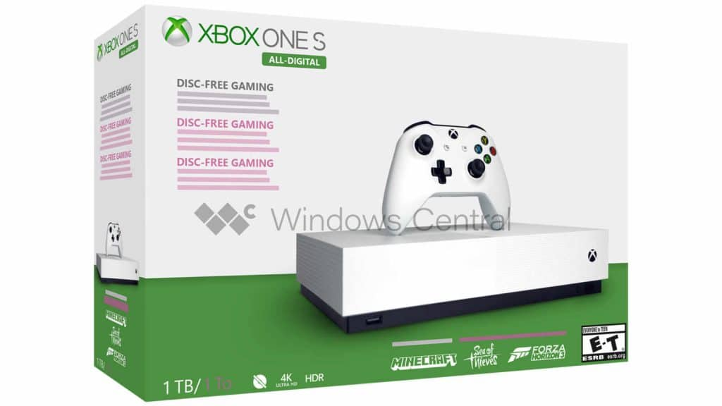 Xbox One S All Digital soll 229 Euro kosten