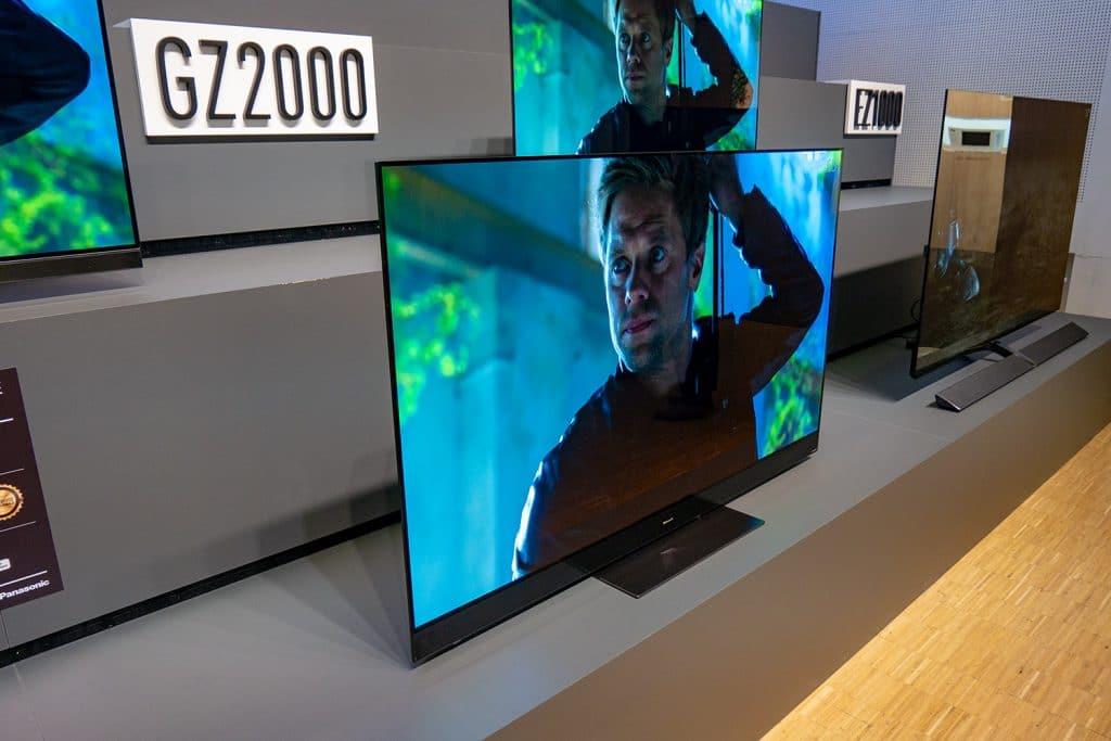GZW2004: Panasonics Premium OLED mit ausgesuchten und verbesserten Panels und Dolby Atmos Soundsystem