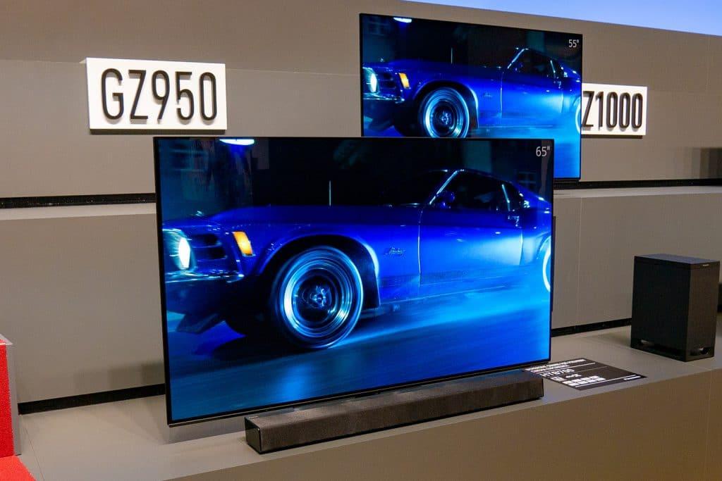 """Panasonics """"Einstiegs OLEDs"""" der GZW954 Serie"""