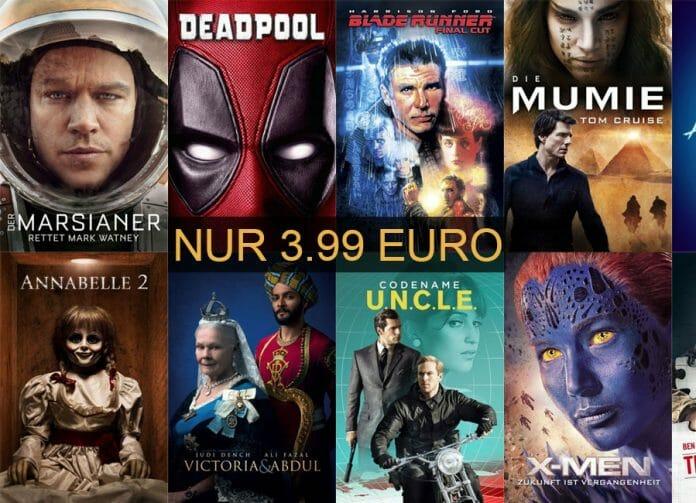 Für kurze Zeit: Ausgewählte Blockbuster für nur 3.99 Euro auf iTunes kaufen!