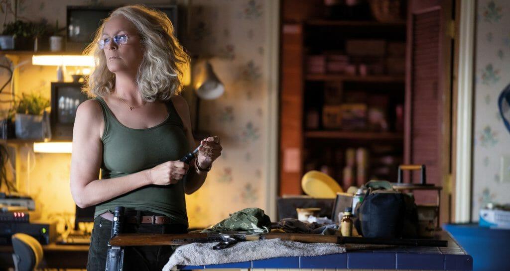Laurie Strode (Jamie Lee Curtis) hatte 40 Jahre Zeit um sich auf das Böse vorzubereiten