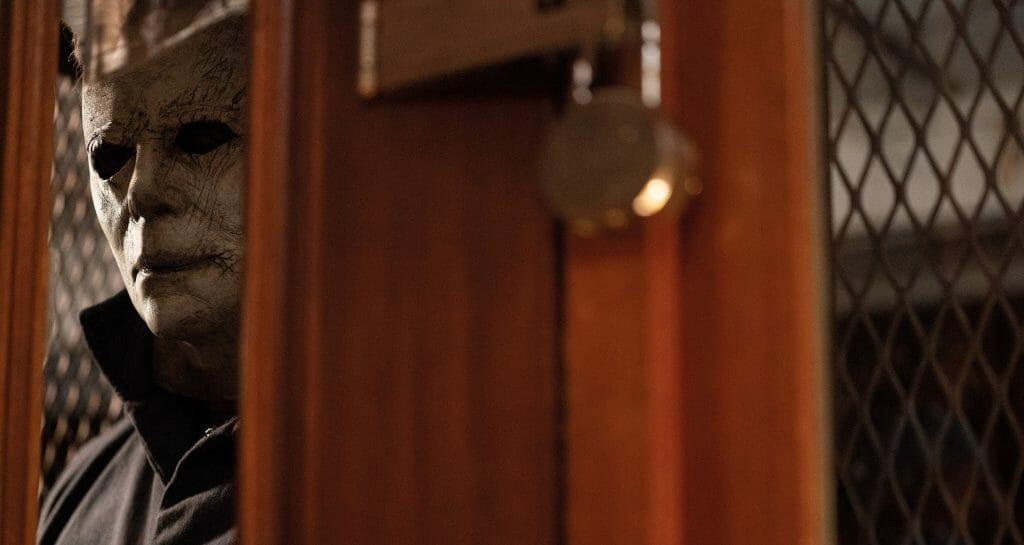 """""""Du hast dich ja gar nicht verändert!"""". Die regungslose Maske von Michael Myers sorgt auch 40 Jahre später für Panik"""