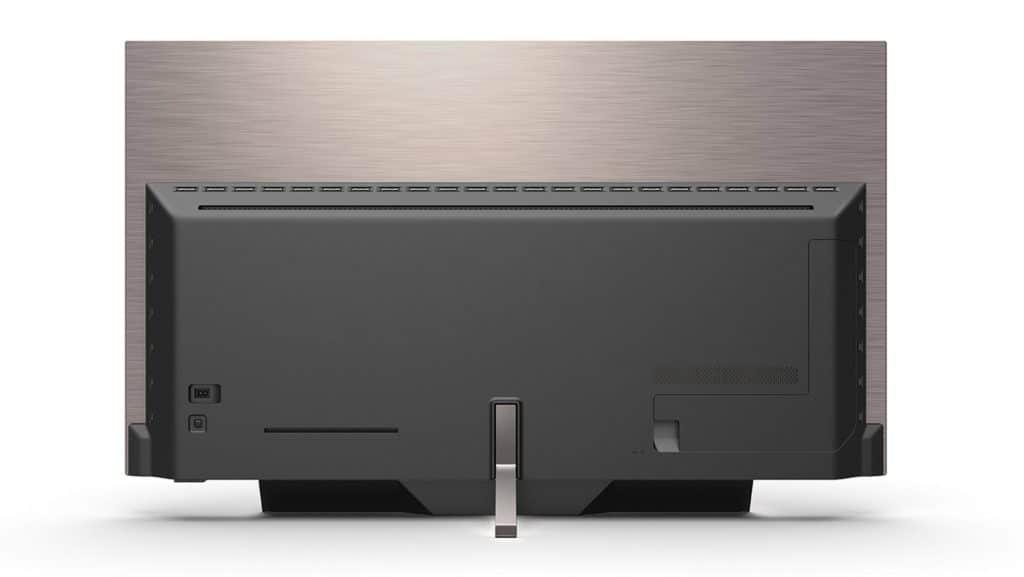 Auch die Rückseite des Philips OLED934 kann sich sehen lassen