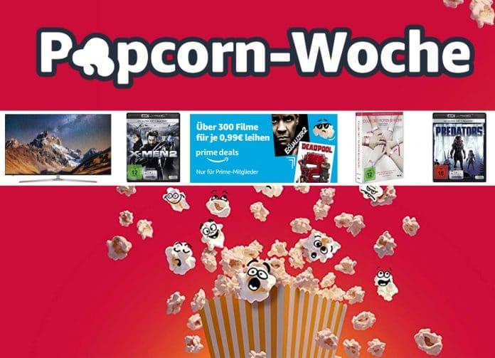 Die Popcorn-Woche 2019 ist gestartet! Mit reduzierten Entertainment Highlights aus Film & Technik!