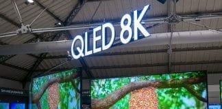 8K Fernseher wie der Samsung Q950R benötigen HDMI 2.1 um in Zukunft 8K/60p Inhalte darstellen zu können
