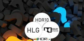 Welcher Hersteller unterstützt welches HDR-Format (HDR10, HLG, HDR10+, Dolby Vision)