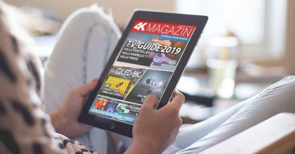 Es tut uns leid! Die erste Ausgabe des 4K Magazins ist bereits komplett vergriffen!