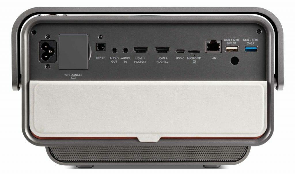 Viewsonic X10-4K Ports