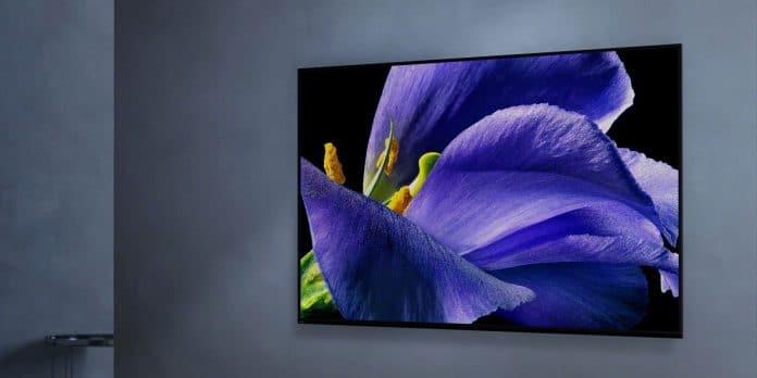 Der Sony AG9 4K OLED macht ist jetzt noch schlanker und macht an der Wand montiert eine noch bessere Figur