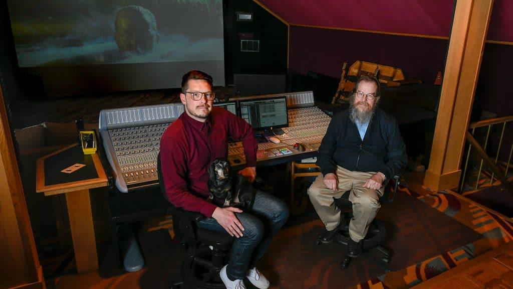 """Sind verantwortlich für den Dolby Atmos Sound von """"Apocalypse Now: Final Cut"""" - Colin Guthrie und John Mayer von Mayer Sound"""