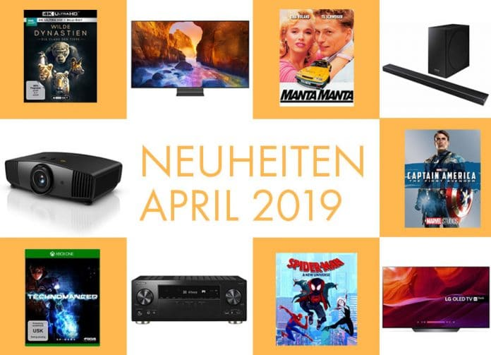 Neuheiten über Neuheiten: Der April 2019 hat ganz schön was zu bieten!