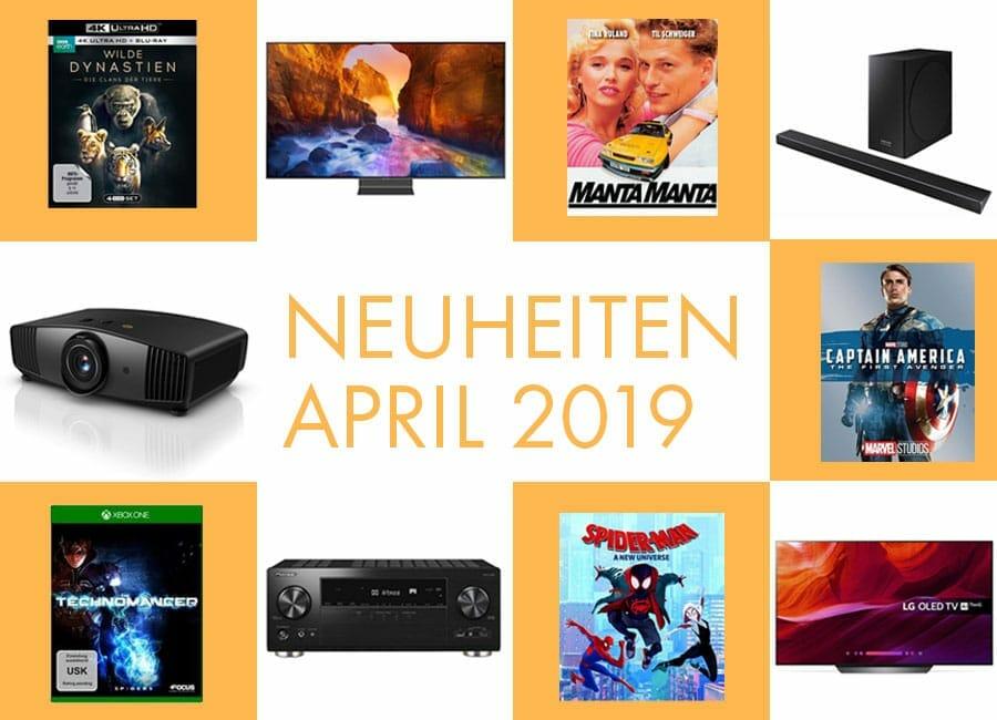 neuheiten april 2019 film unterhaltungselektronik. Black Bedroom Furniture Sets. Home Design Ideas