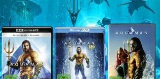 AQUAMAN erscheint in bester Ausstattung auf DVD, Blu-ray, 3D Blu-ray und 4K Ultra HD