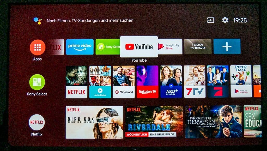 Das Android TV 8.0 Update mit überarbeitetem Interface gestaltet in unseren Augen die Bedienung weitaus komfortabler