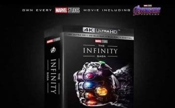 "Die Marvel ""The Infinity Saga"" 4K Blu-ray Collection"