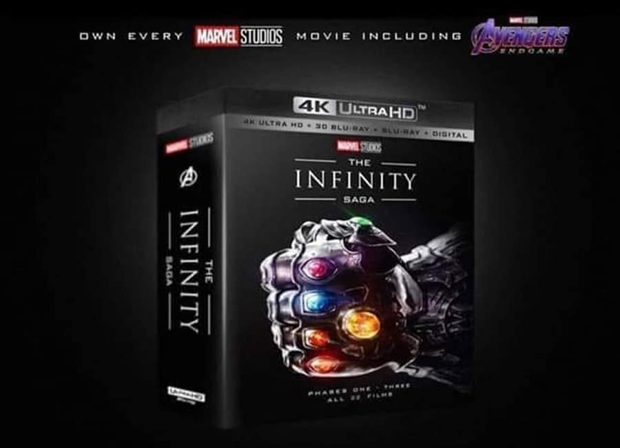 The Infinity Saga': Alle Marvel Filme als 4K Blu-ray Collection?