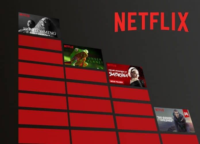 Netflix möchte seinen Abonnenten seine Top 10 Streaming Charts präsentieren