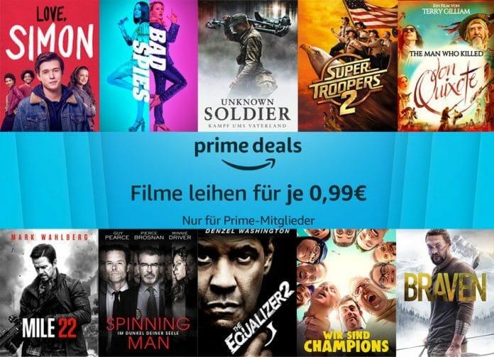 Bis Sonntag 07. April können Prime-Mitglieder ausgewählte Filme für nur 99 Cent ausleihen!