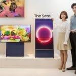 The Sero Hochkant-TV von Samsung
