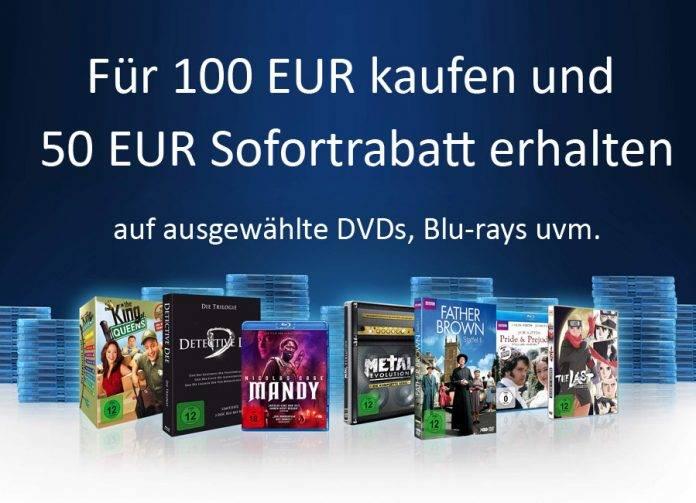 Für 100 Euro kaufen und 50 Euro Sofortrabatt erhalten Aktionbanner